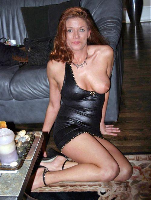 Dutch wife in latex dress is ready for it