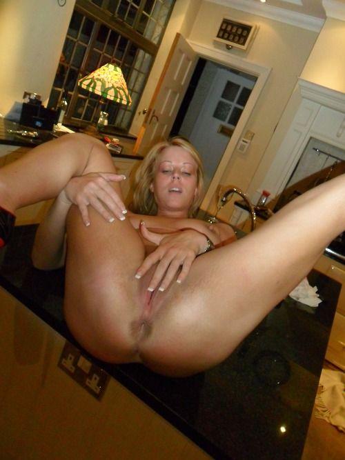 MILF wants her butt fucked in kitchen